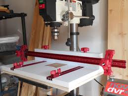 Wood Magazine Bench Top Drill Press Reviews by Woodpeckers Drill Press Table Youtube