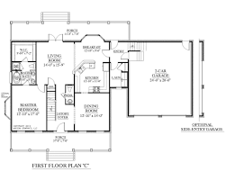 4 Bedroom Single Floor House Plans 100 One Story Luxury Home Floor Plans Country Style House
