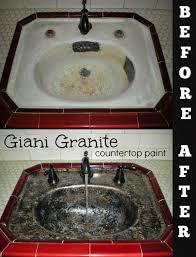 Simply DIY Sink Basin Makeover With Giani Granite Countertop Paint - Kitchen sink paint