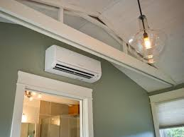 Overhead Door Heaters The Pros And Cons Of A Ductless Heating And Cooling System Hgtv