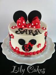 Red Minnie Mouse Cake Decorations Minnie Mouse Cake Topper Custom Disney Font Name Cake Topper