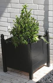 ana white build a square planters with finials free and easy