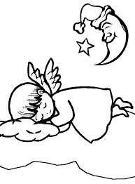 angel coloring pages perfect children age groups