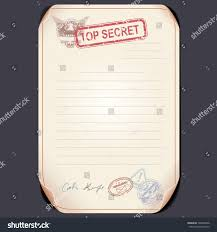 top secret report template charming top secret document template gallery entry level resume