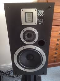 wharfedale laser 400 speakers with ribbon tweeters and upgraded