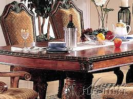 Two Pedestal Dining Table Acme Furniture Acme 04075 Double Pedestal Dining Table Set