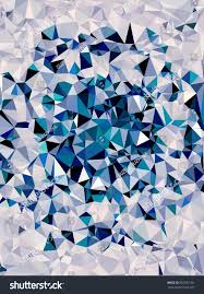 abstract image blue shades technically altered stock illustration
