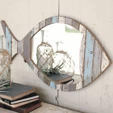 nautical mirror bathroom nautical mirrors driftwood fish mirror bella coastal decor for