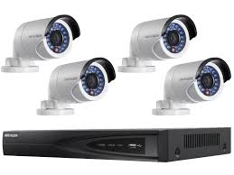 Cctv System Hikvision 4 5mp Ip Cctv System With 30m Vision 2tb Nvr
