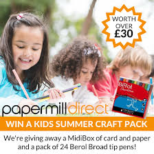 win a kids craft pack plus try making these fun u2026 papermill direct