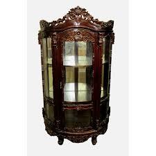 Curio Cabinet Bombay Company D Art Collection Rococo Curio Cabinet Wayfair