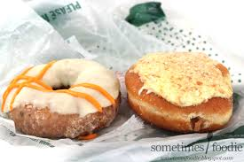 sometimes foodie carrot cake u0026 banana pudding doughnuts krispy kreme