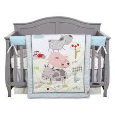 Farm Animals Crib Bedding by Crib Bedding Sets Trend Lab