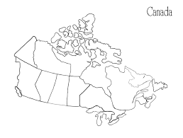 Africa Blank Map by Map Coloring Page
