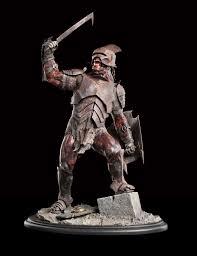 weta workshop lotr uruk hai swordsman