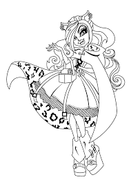 monster high coloring pages frights camera action new monster high coloring pages to print 45 artsybarksy