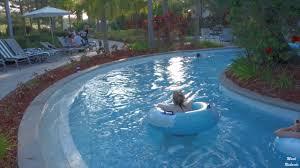 lazy river at the hilton orlando resort florida usa youtube