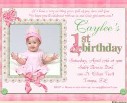 1st birthday invitation wording 1st birthday invitation wording in