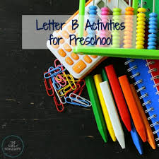 letter b activities for preschool crafts and ideas for homeschool