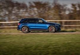 blue mercedes 2018 mercedes amg glc 63 s coupe review gtspirit