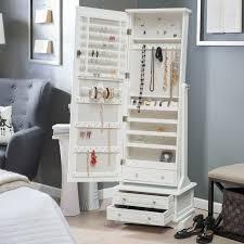 free standing jewellery armoire uk smart storage ideas for your bedroom smart storage jewelry