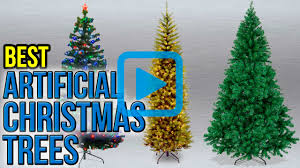 top 10 artificial christmas trees of 2017 video review