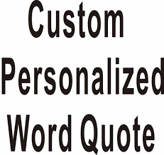 custom personalized own word quote wall stickers wall decals art custom personalized own word quote wall stickers wall decals art home