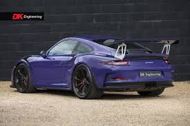 purple porsche 911 porsche 911 991 gt3 rs for sale vehicle sales dk engineering