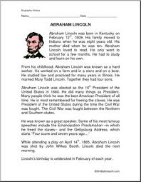 biography of abraham lincoln download biography of abraham lincoln facts and quetsions presidents day