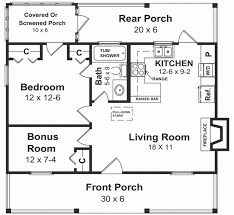 one bedroom house design simple two plans bath free floor for