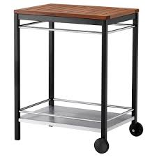 Kitchen Carts Ikea by Klasen Serving Cart Outdoor Stainless Steel Ikea