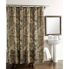 Realtree Shower Curtain Real Tree Xtra Shower Curtain Walmart
