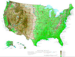 Us Map Of The United States by Usa Map Bing Images