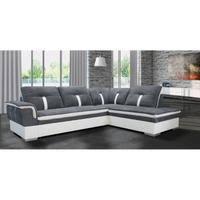 canapé d angle 200x200 canapé d angle marion gris blanc angle droit achat vente canapé