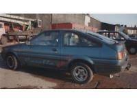 wanted toyota corolla toyota corolla used cars wanted gumtree