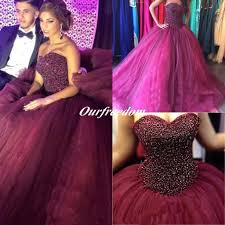 maroon quinceanera dresses burgundy pufly gown quinceanera dresses 2016 sweetheart heavy