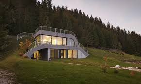 homes built into hillside 7 stunning homes built into hillside building plans 15656
