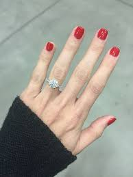 2 carat ring engagement ring simple brilliant 2 carat solitaire with pave
