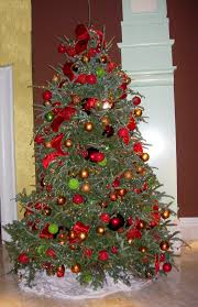 Holiday Decorated Homes by Christmas Tree Decoration Ideas With Ribbon Decorations Decorating