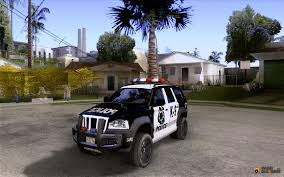 jeep police package grand cherokee police k 9 for gta san andreas