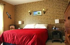 Minecraft Theme Bedroom Bedroom Minecraft Room Decor In Real Life