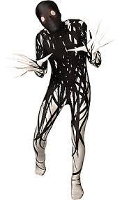 Boys Scary Halloween Costumes Boys Black U0026 White Horror Zalgo Morphsuit Fun Myles