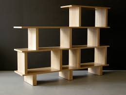 furniture modern black solid wood tall narrow open booksshelf