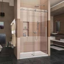 Delta Shower Doors Bypass Sliding Shower Doors Showers The Home Depot Throughout