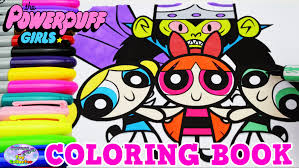powerpuff girls coloring book blossom mojo jojo show episode