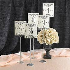 table numbers for wedding paper wedding table decorations ebay