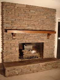Ica Home Decor by Beforenafter A New Gas Fireplace With Custom Stone Wall Into