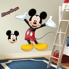 Disney Bedroom Wall Stickers Mickey Mouse Wall Decor Roselawnlutheran