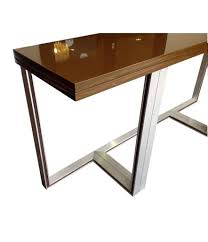 artelano brown lacquer extending console table ed butcher artelano brown lacquer extending console table