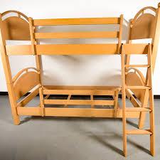 Ethan Allen Bunk Beds Ethan Allen Maple Bunk Beds Ebth